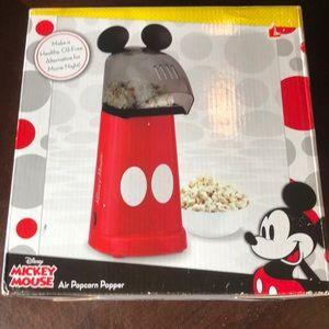 Disney Mickey Mouse popcorn popper new